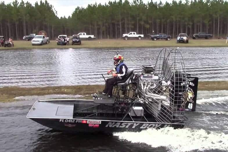 How Fast Can an Airboat Go?