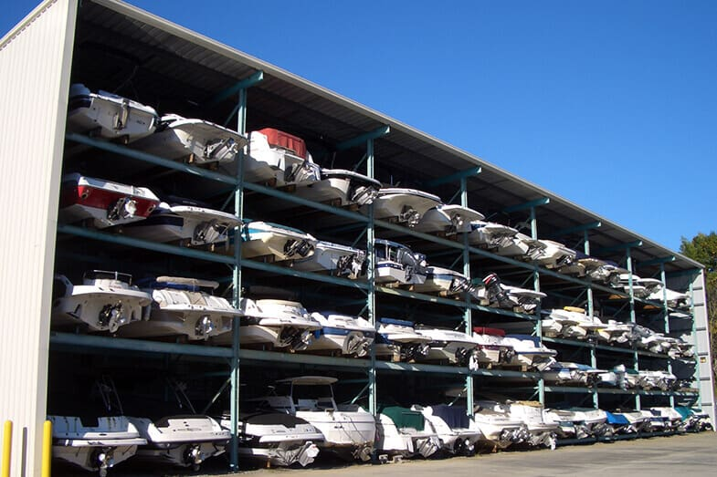How to Store a Boat Outside in Winter