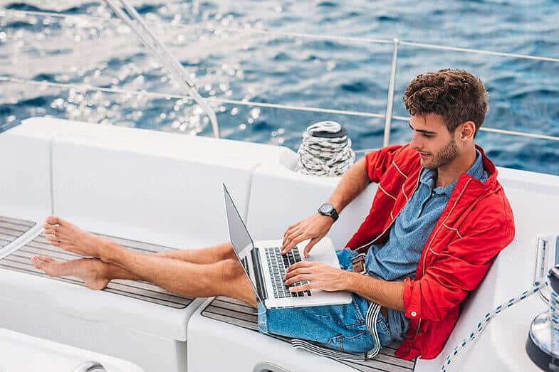 How to Get Internet on a Boat at Sea