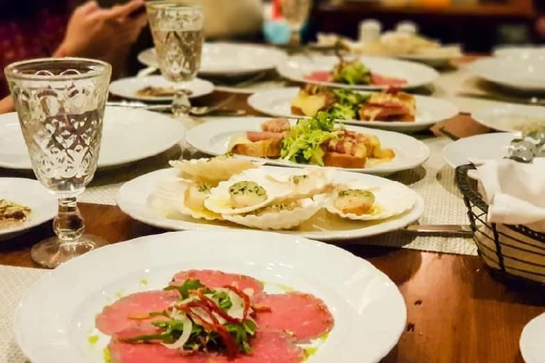giovannis table royal caribbean menu