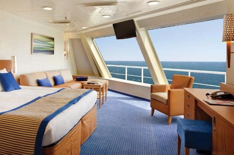 alaskan cruise ship best cabins