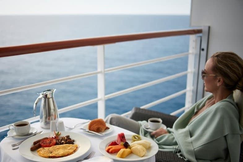 balcony cabin of an alaskan cruise