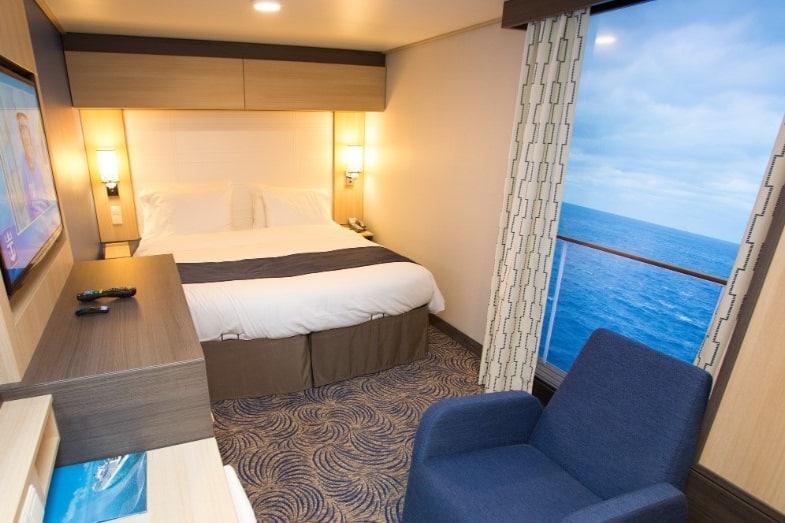 cabin on a cruise ship