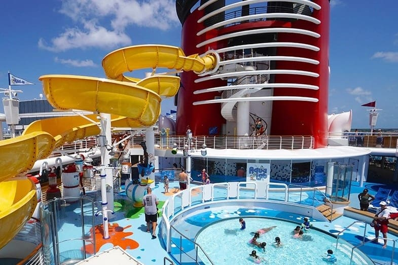 disney cruise ship attractions