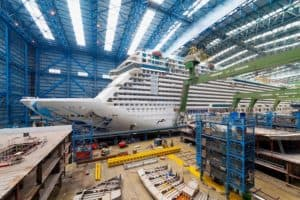 How Long Does It Take to Build a Cruise Ship?
