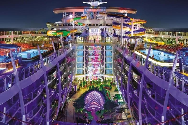 newest royal caribbean cruise attractions