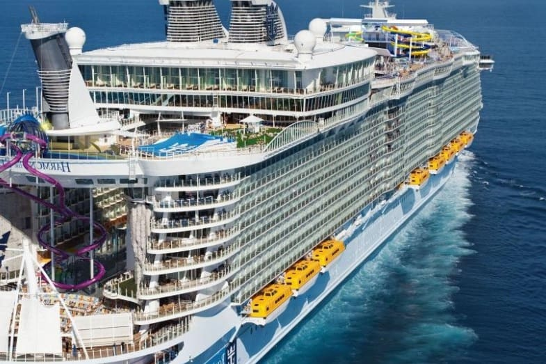 second largest cruise ship in the world