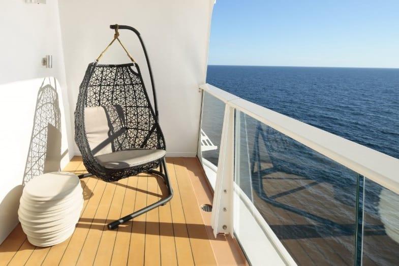 types of veranda on a cruise ship