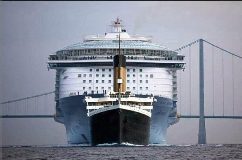 How Big Was the Titanic Compared to a Modern Cruise Ship?