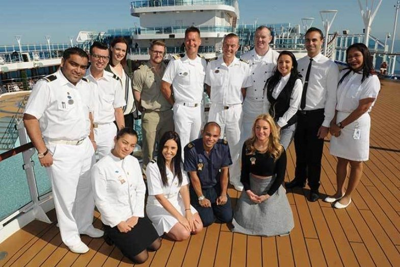 working on a cruise ship experience