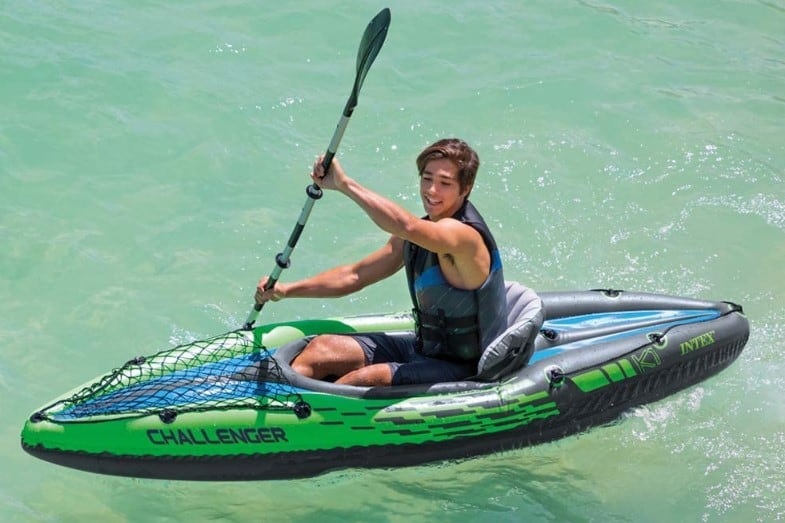 intex challenger k1 one person kayak review