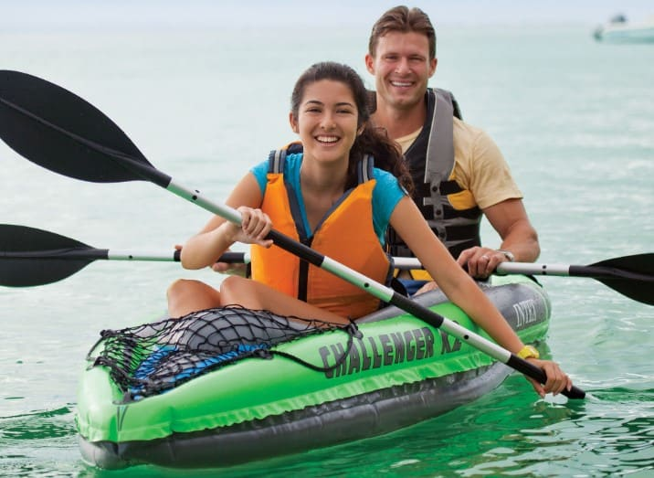 intex challenger k2 two person kayak review