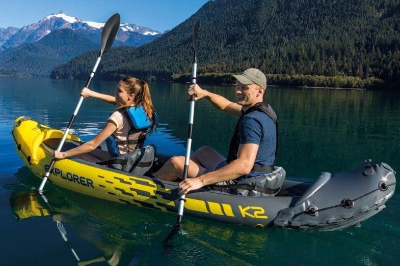 intex explorer k2 two person kayak review