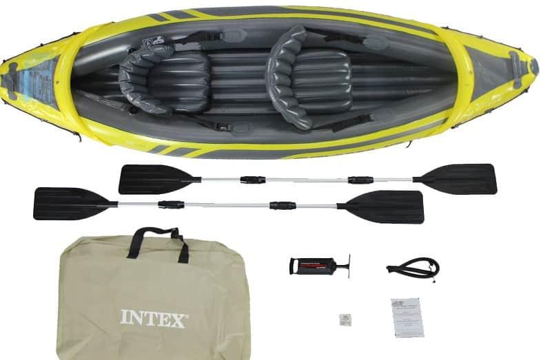 intex explorer k2 versus intex challenger k2 kayak review