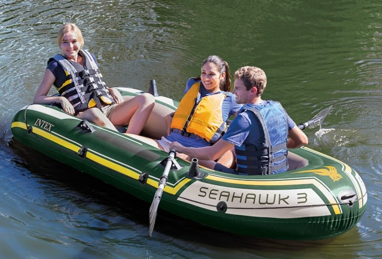 review and specs of intex seahawk 3