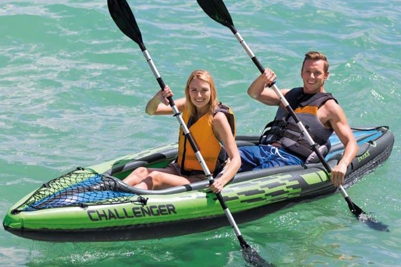 review of intex challenger k1 kayak