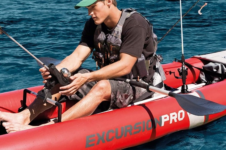 review of intex excursion pro kayak