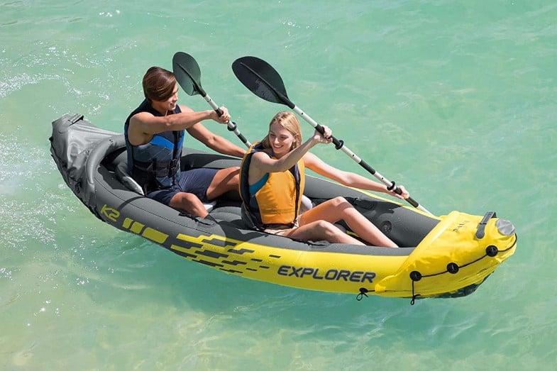 review of intex explorer k2 kayak