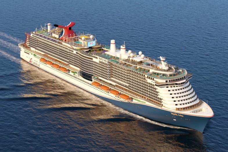 which carnival cruise ship is the biggest