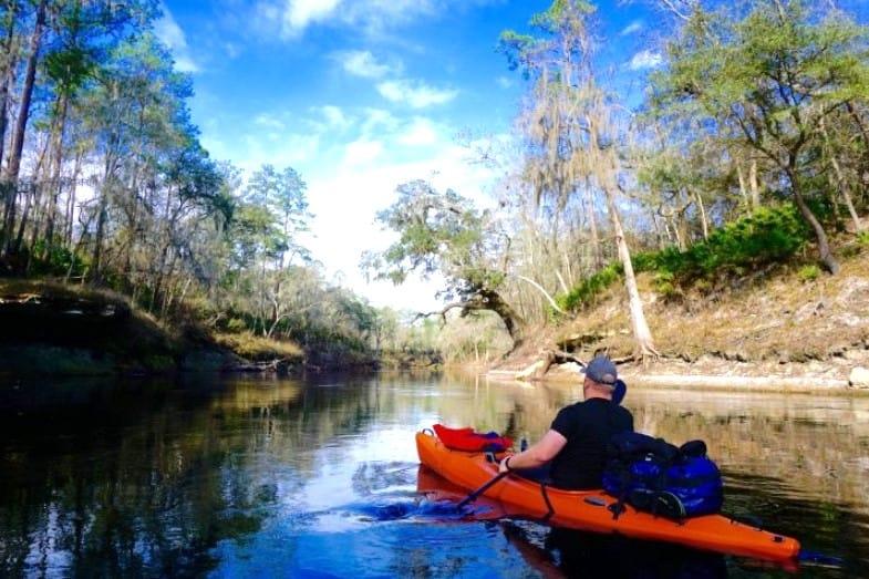 best kayaking spots in florida