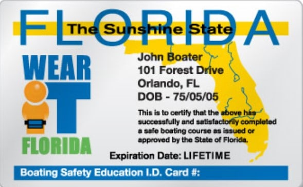 do you need a florida boating license to drive a boat