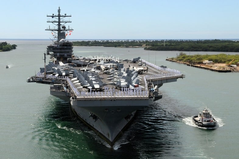 Types of Navy Ships – 7 Classifications [US Navy]