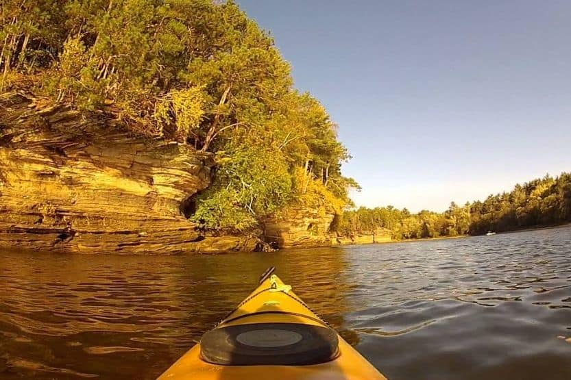 best kayaking in Wisconsin