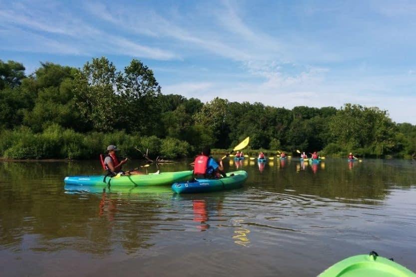 best places to kayak in virginia