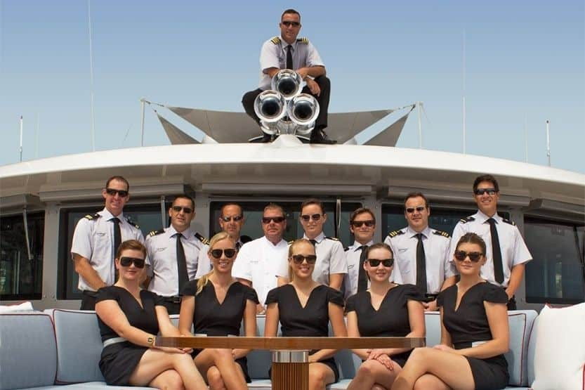how much is a yacht charter