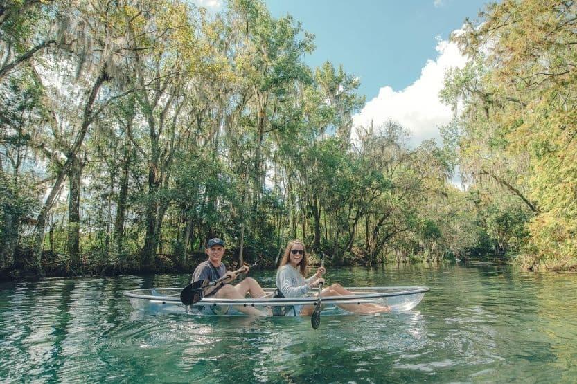 tampa kayaking