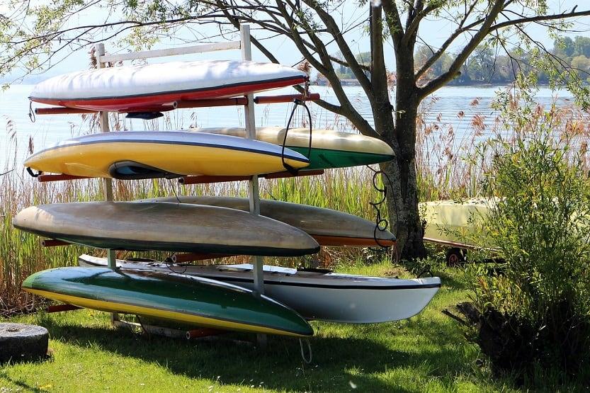 Best Canoe Storage Racks [Our Top 8 Picks]