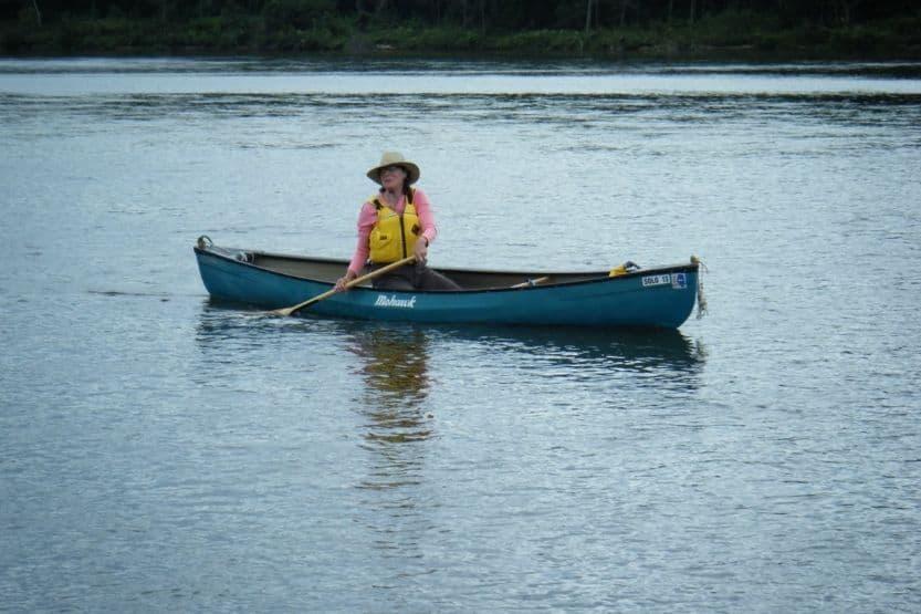 Mohawk canoe models