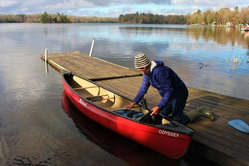 Mohawk canoes