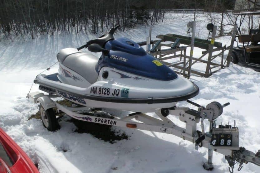 Polaris 750 jet ski