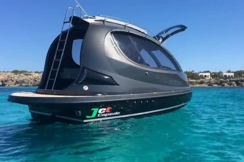 jet Capsule boat specs