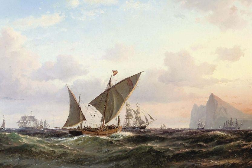 lateen sails