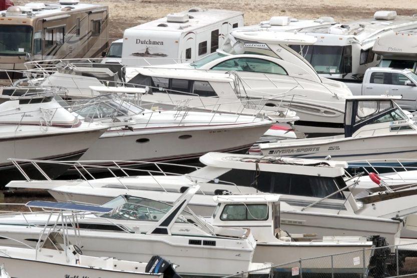 boat salvage yard