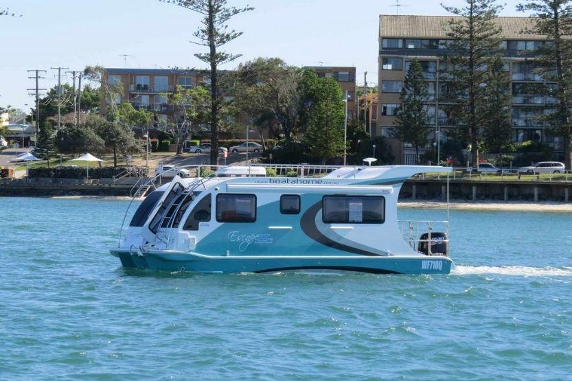 houseboats trailerable