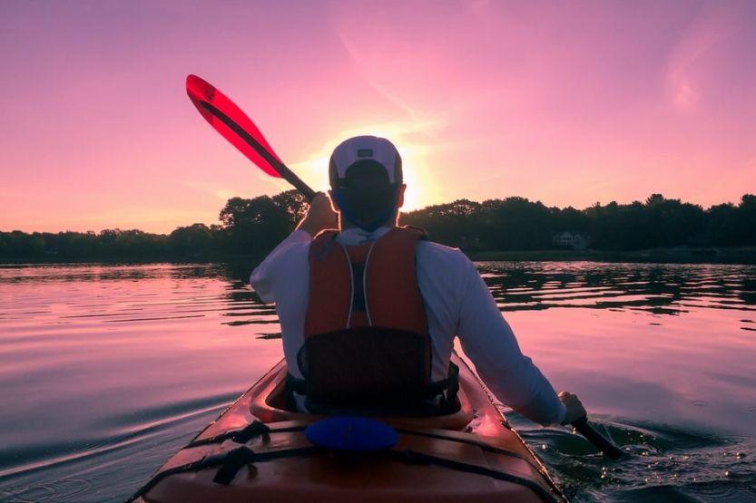 sit on vs sit in kayak