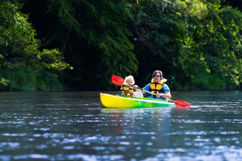 kayaking in northeast ohio